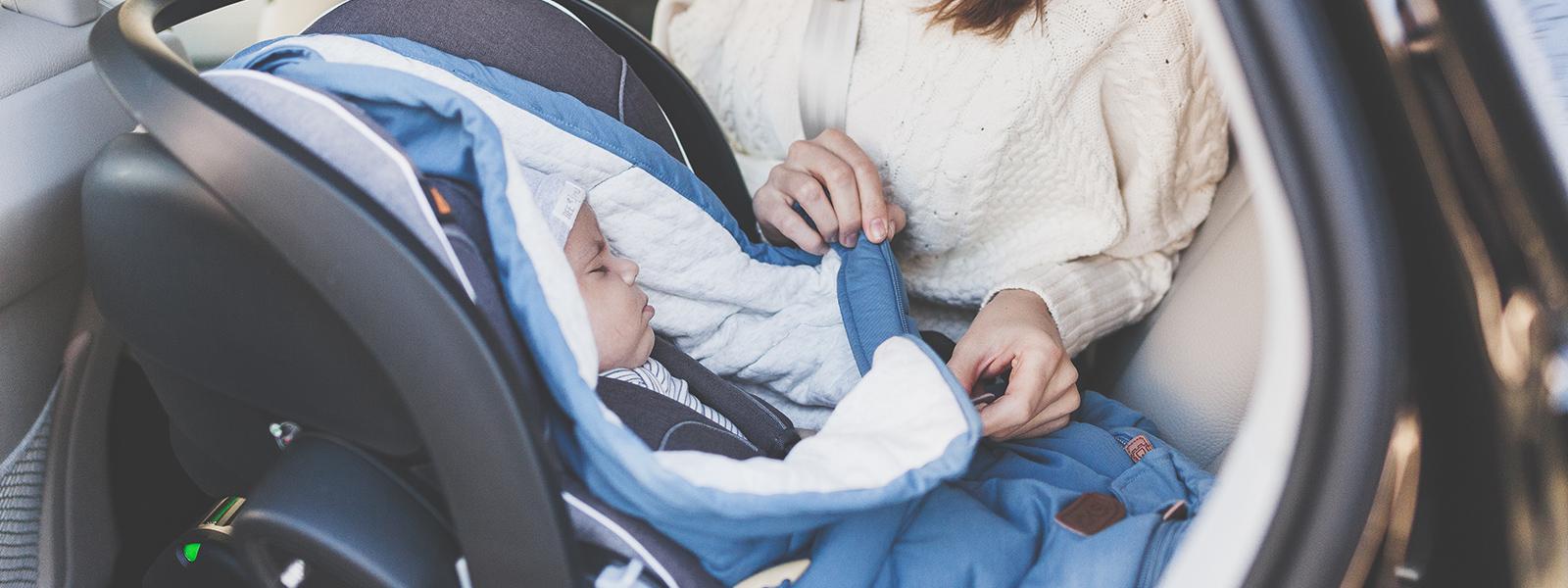 Åka hem från BB - 6 tips på hur du kan förbereda dig inför din första resa med din bebis